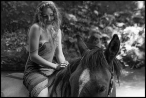 A-Young-Woman-and-Her-Horse
